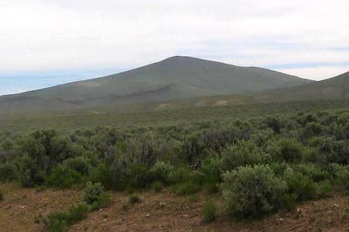 Beatys Butte from near the...