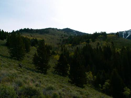 Horton Peak seen from near...