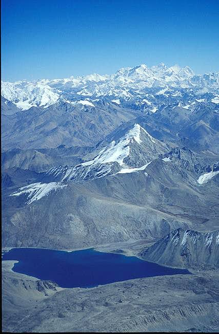 Tibetan country as seen from...
