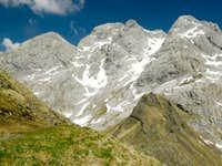 Monte Coglians from 143 path