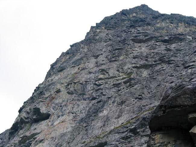 Kazalnica - upper part of a...