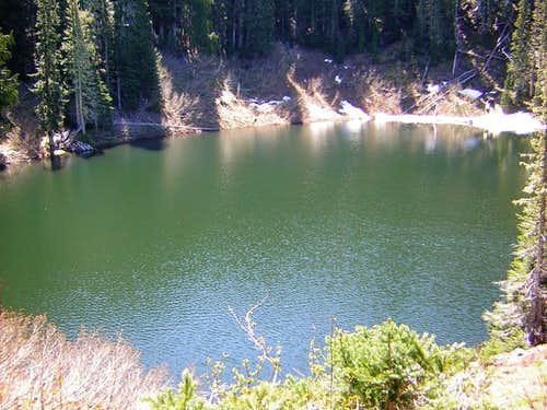 A view of Wagonwheel Lake...