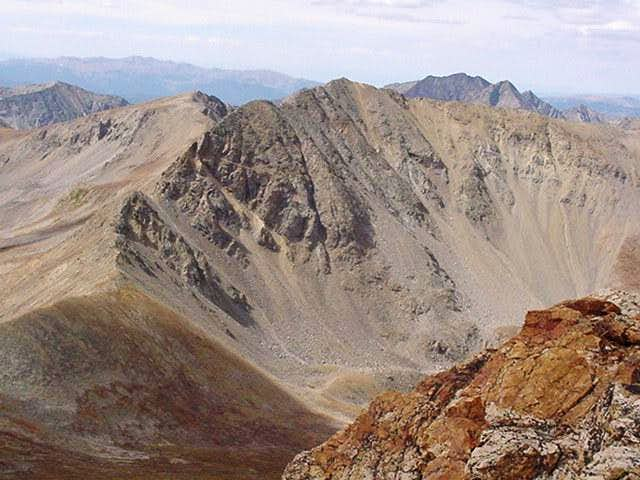 As seen from the summit of...