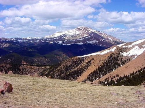 Pikes Peak from the summit...