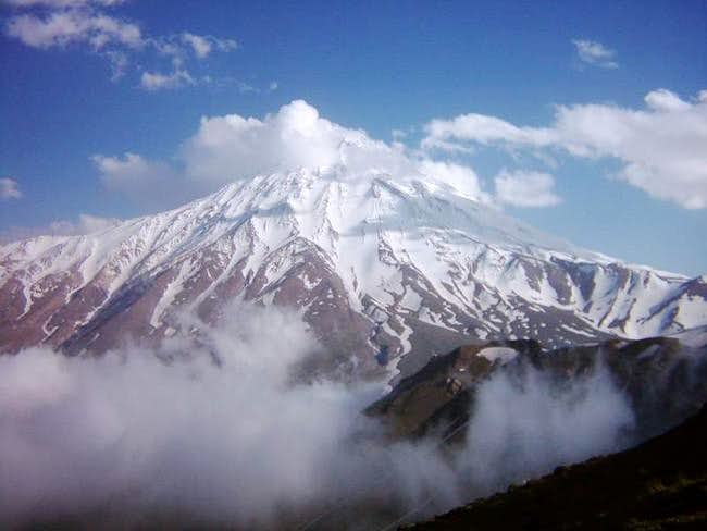 North face of Damavand ....