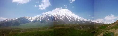 Damavand from north . ( from...