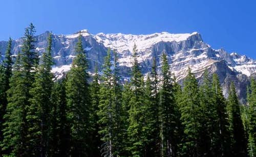 Mount Temple from the Moraine...