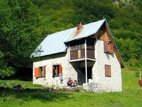 "Mountain hut ""Branko Kotlajic"" in Grbaja Valley"
