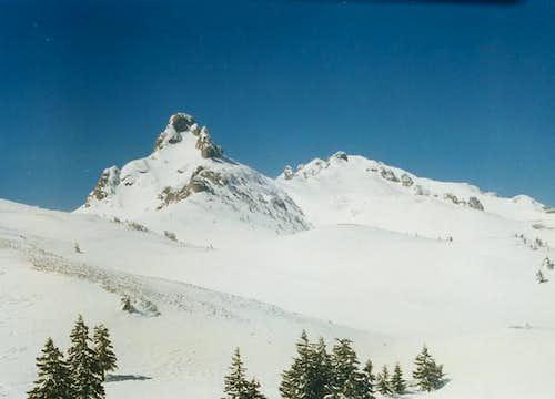 Tigaile mari and Ciucas peak...