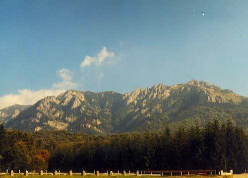 Zaganu-Gropsoarele ridge in...