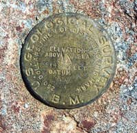 This is the USGS Marker that...