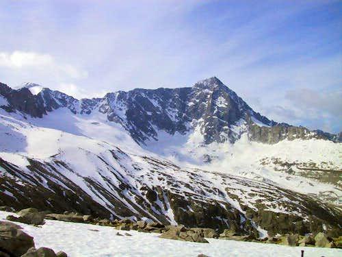 North side of Monte Adamello,...