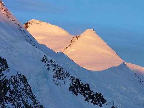 Aletschhorn from Koncordia...
