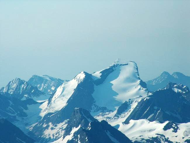 Mt. Joffre from the summit of...