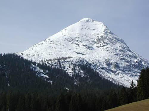 Hohe Munde seen from...