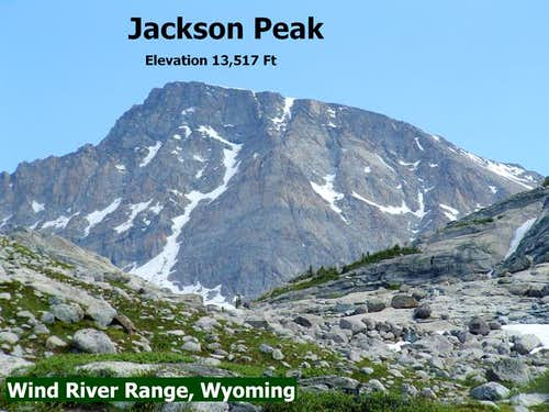 Jackson Peak from Indian Pass...