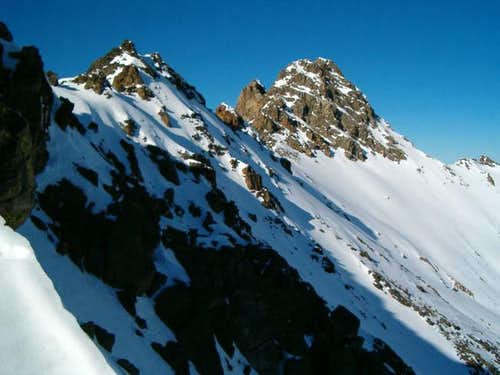 Hilgard Peak from the west...