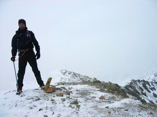 Glenn on Cascade summit. It...