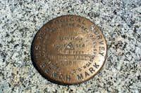 USGS Summit Marker