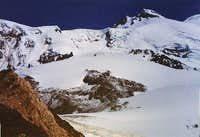 West summit of Elbrus and...