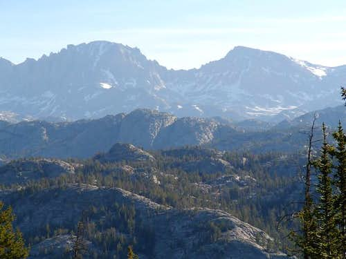 Fremont Peak (left) and...