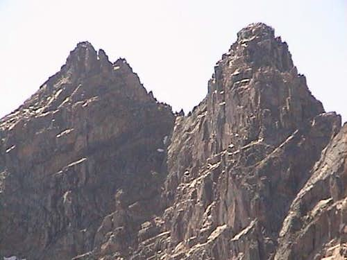 Close-up of the east face....