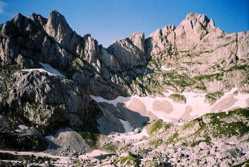 Lucin Vrh (2396 m) on the...