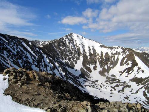 Crystal Peak\'s rugged north...