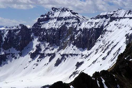 Dallas Peak as seen from the...