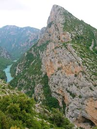 Crete de Vernis- a ridge at...