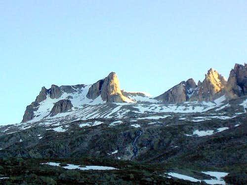 Monte Bianco and Monte Nero...