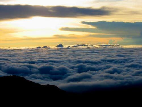 Sunrise at the summit of...