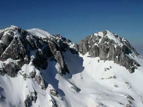 Sljeme (2455 m) and...