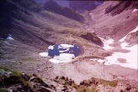 Modre pleso ( Blue lake ) -...