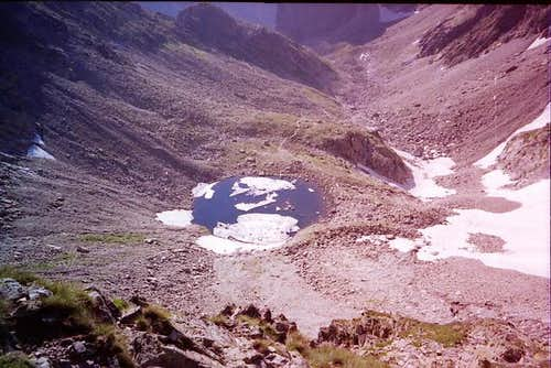 Modre pleso ( Blue lake ) -...