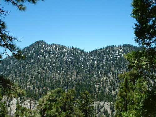 Twin Peaks north side as seen...