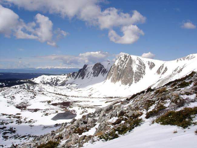 A view of the Medicine Bow...