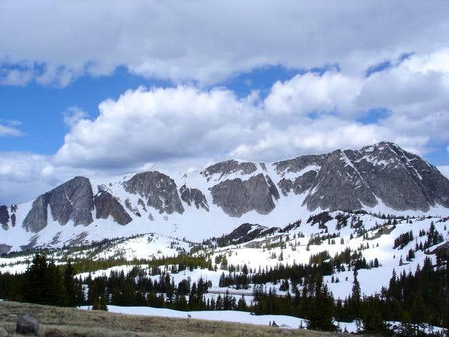 The ridge west of Medicine...