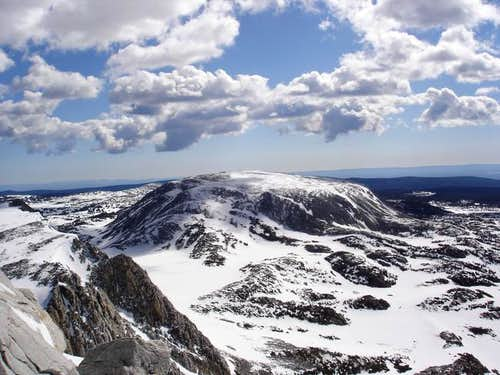 The Medicine Bow Peak summit...