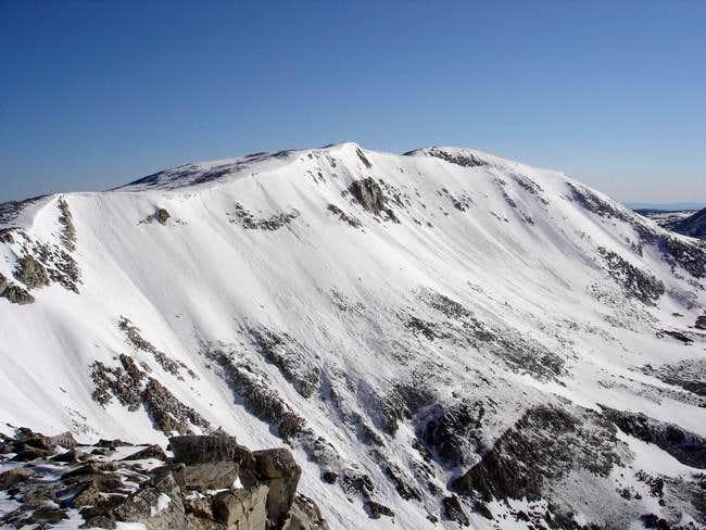 The main ridge with Medicine...