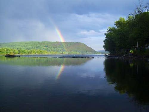 A little bit of rainbow still...