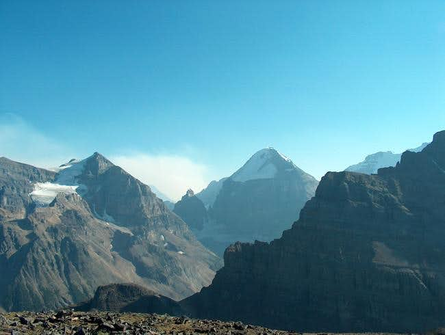 Mitre Peak from the Summit of...