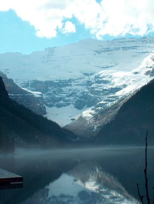 Mt. Victoria over Lake Louise...