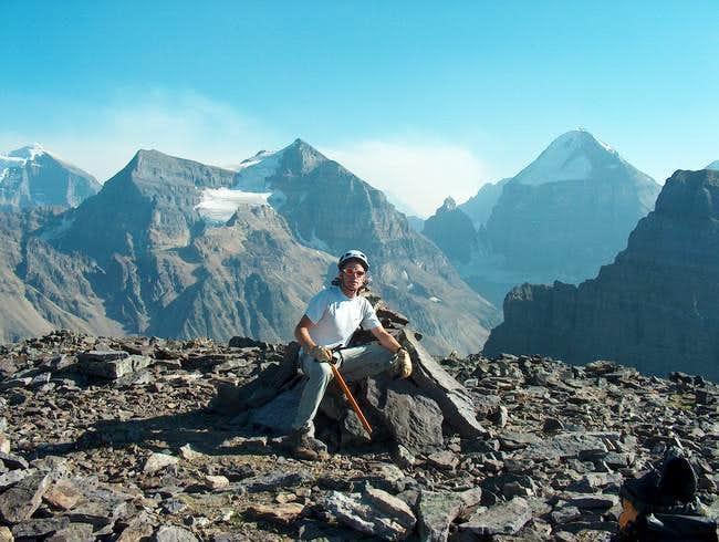 The Summit of Mt. St. Piran...