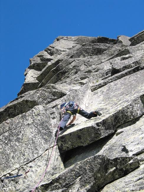Getting through the crux at...