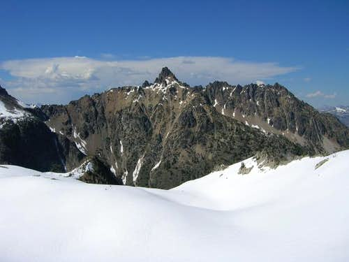 Tupshin Peak from the south...