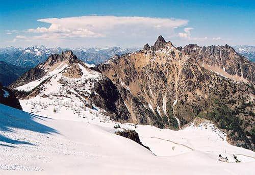 White Goat Mountain, Tupshin...