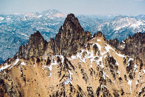 Summit tower of Tupshin from...