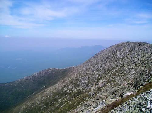Hunt Trail viewd from Abol...