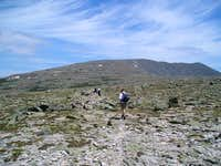 The Tableland at the edge of...